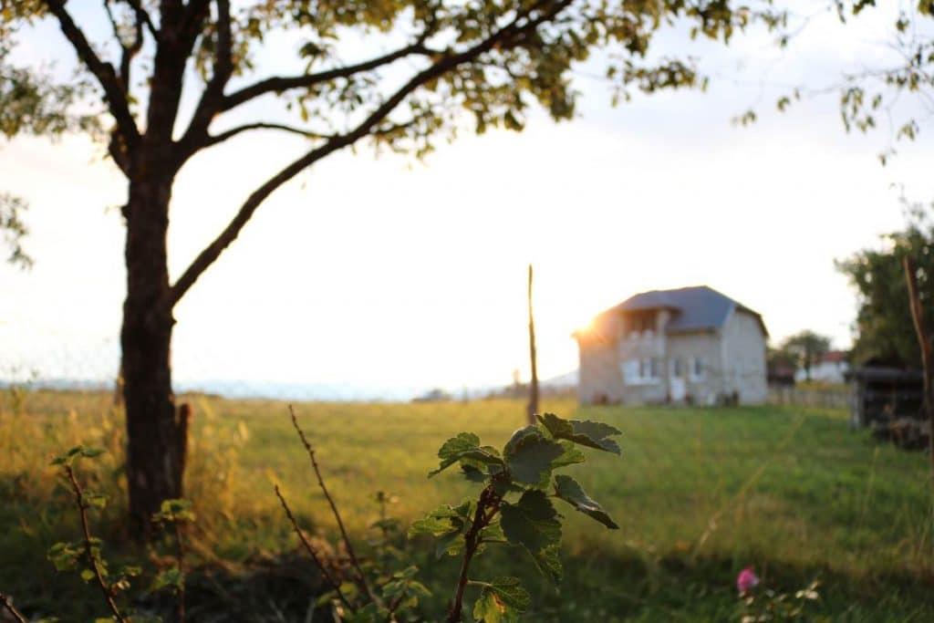 rural house on hills| Urban regional or rural